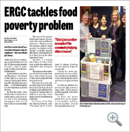 ERGC tackles food poverty problem